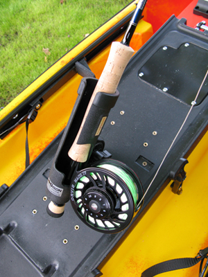 Bison rod holders for Fly fishing rod holder