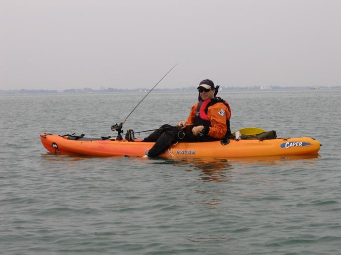 Ocean kayaks caper angler for Ocean kayak fishing
